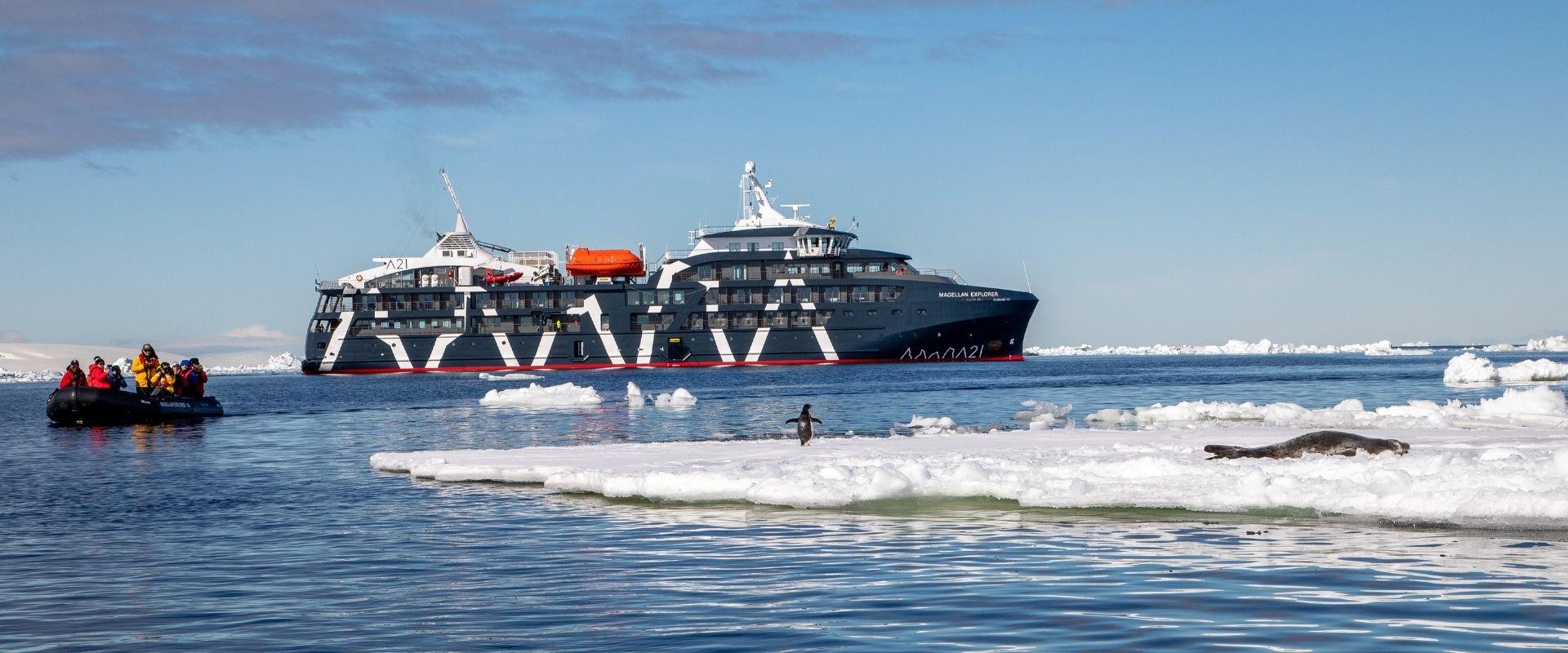 Magellan Explorer Air Cruise Antarctica