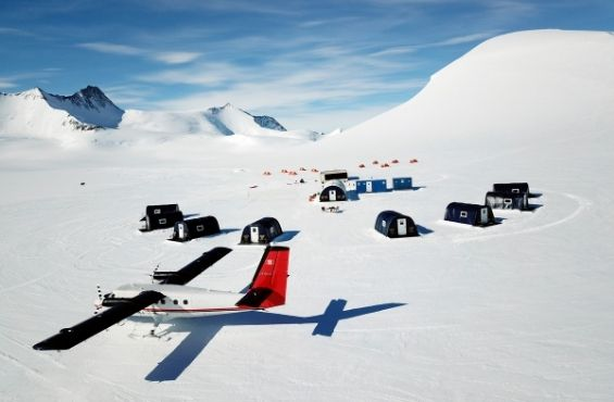 Three Glaciers Retreat